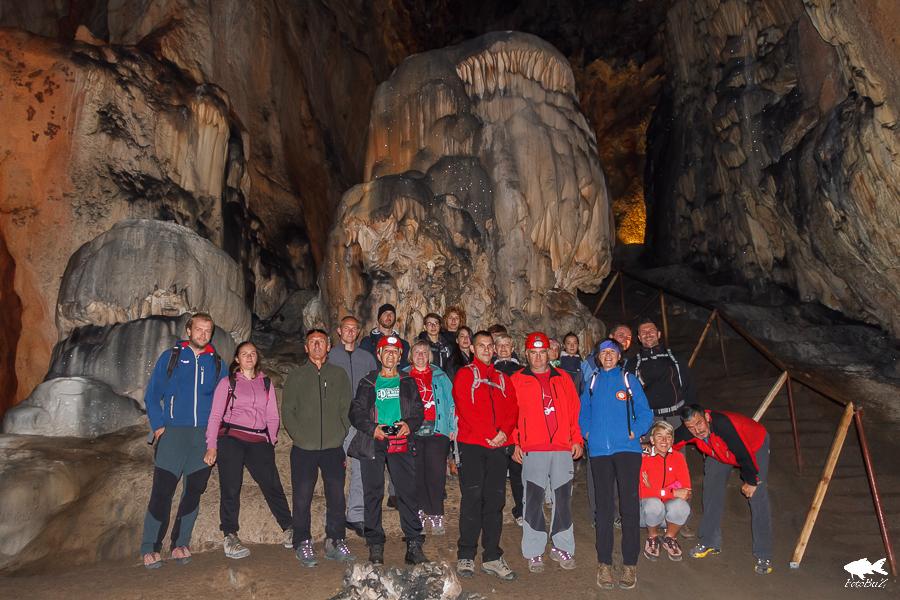 Sudionici u pećini Samograd